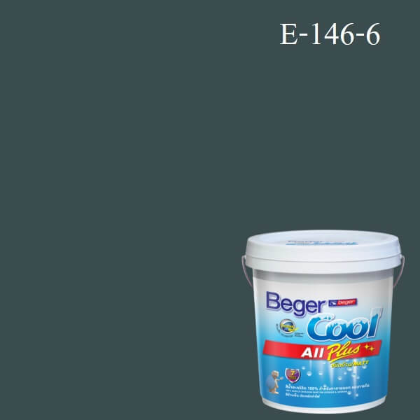 Beger Cool All Plus สีน้ำอะครีลิก ภายนอก E-146-6