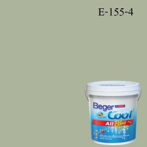 สีน้ำอะครีลิกภายนอก E-155-4 EC Beger Cool All Plus Herb Garden