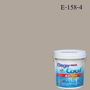 สีน้ำอะครีลิกภายนอก E-158-4 Beger Cool All Plus Summer Town