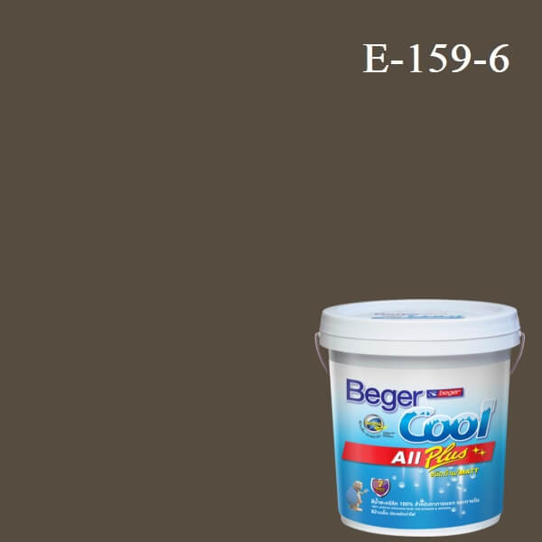 Beger Cool All Plus สีน้ำอะครีลิก ภายนอก E-159-6
