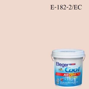 Beger Cool All Plus สีน้ำอะครีลิก ภายนอก E-182-2/EC