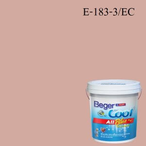 สีน้ำอะครีลิกภายนอก E-183-3 EC Beger Cool All Plus Gypsy Jewels