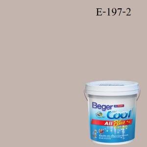 Beger Cool All Plus สีน้ำอะครีลิก ภายนอก E-197-2