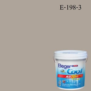 Beger Cool All Plus สีน้ำอะครีลิก ภายนอก E-198-3