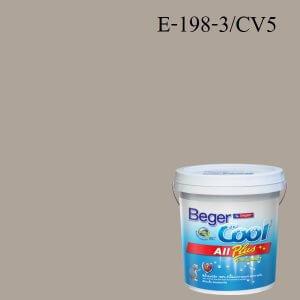 Beger Cool All Plus สีน้ำอะครีลิก ภายนอก E-198-3/CV5
