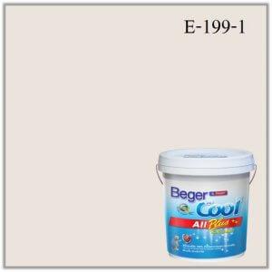 สีน้ำอะครีลิกภายนอก E-199-1 Beger Cool All Plus Almond Cookie
