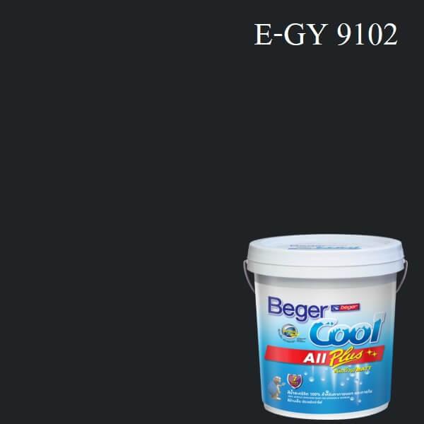 Beger Cool All Plus สีน้ำอะครีลิก ภายนอก E-GY 9102