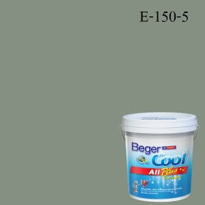 สีน้ำอะครีลิกภายนอก E-150-5 Beger Cool All Plus Fade to Jade