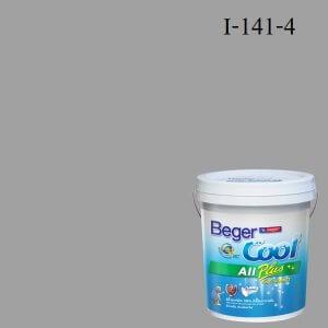 สีน้ำอะครีลิกภายใน I-141-4 INT Beger Cool All Plus Shiney Nickel