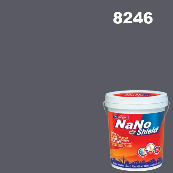 นาโนโปรชิลด์ สีน้ำอะครีลิก 8246 (Five O'clock Shadow)