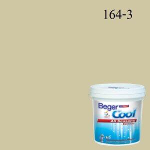 Beger Cool All Seasons สีน้ำอะครีลิก ภายนอก E-GY 164-3 PJ