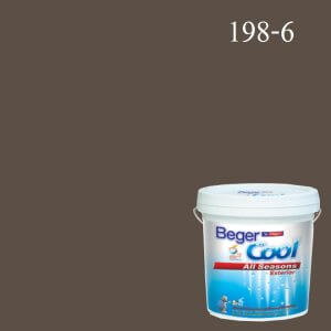 สีน้ำอะครีลิกภายนอก 198-6 Beger Cool All Seasons Josh Bark
