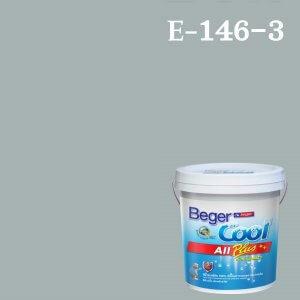 สีน้ำอะครีลิกภายนอก E-146-3 Beger Cool All Plus Fresh Aqua