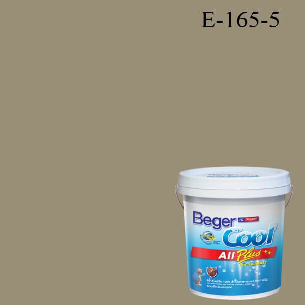 Beger Cool All Plus สีน้ำอะครีลิก ภายนอก E-165-5