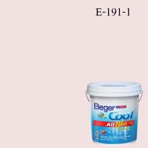 สีน้ำอะครีลิกภายนอก E-191-1 Beger Cool All Plus Mauve Tinged