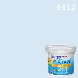 เบเยอร์คูล ออลพลัส กึ่งเงา สีน้ำอะครีลิกกึ่งเงา 4412 Vase Blue