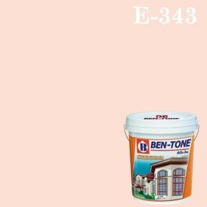 สีน้ำพลาสติก ภายนอก E-343 เบนโทน Pinky
