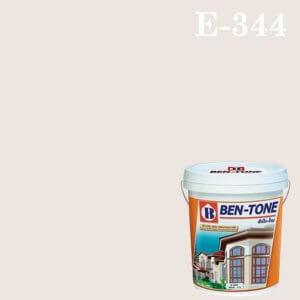 สีน้ำพลาสติก ภายนอก E-344 เบนโทน Violet White