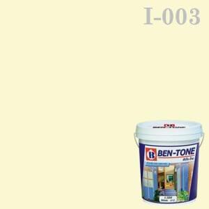 สีน้ำพลาสติก ภายใน I-003 เบนโทน LILY WHITE