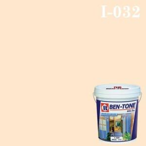 สีน้ำพลาสติก ภายใน I-032 เบนโทน Apricot White