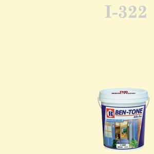 สีน้ำพลาสติก ภายใน I-322 เบนโทน Barley White
