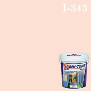 สีน้ำพลาสติก ภายใน I-343 เบนโทน Pinky