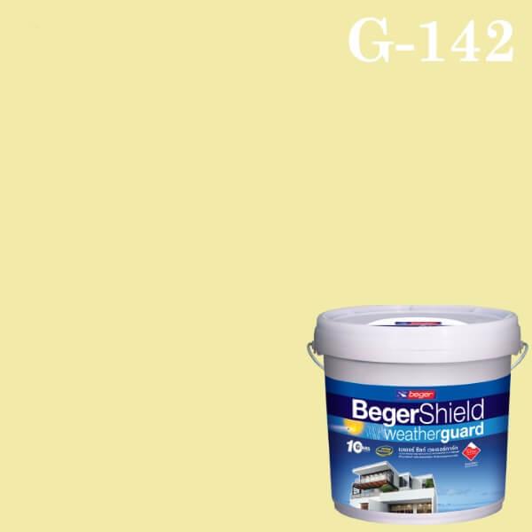สีน้ำอะครีลิกกึ่งเงา G-142 เบเยอร์ชิลด์ Soft Vanilla