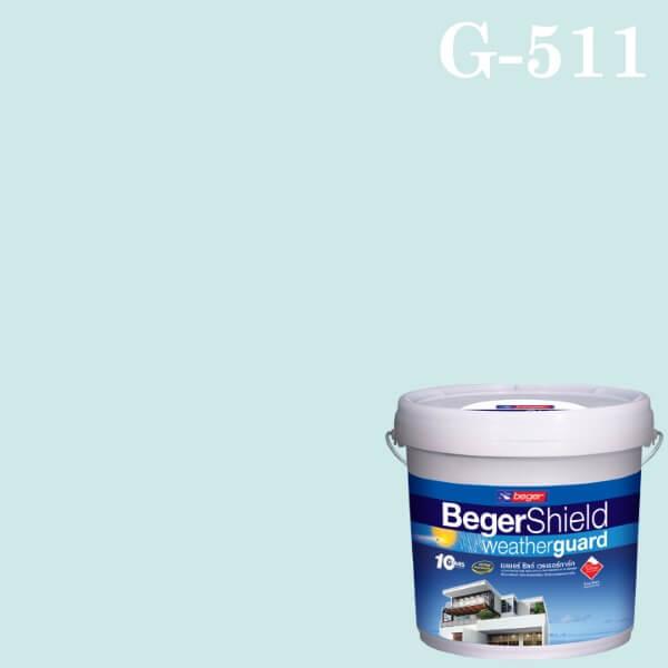 สีน้ำอะครีลิกกึ่งเงา G-511 เบเยอร์ชิลด์ Breezy Blue