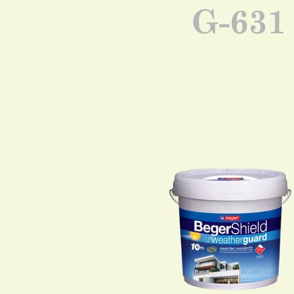 สีน้ำอะครีลิกกึ่งเงา G-631 เบเยอร์ชิลด์ Whispy Mint
