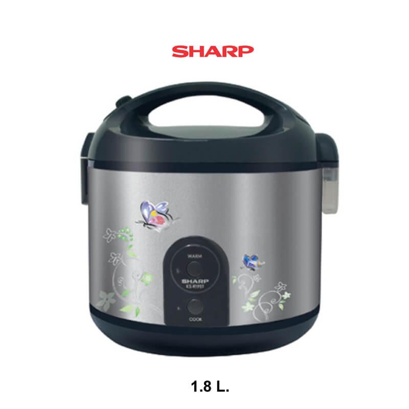 SHARP หม้อหุงข้าว 1.8 ลิตร รุ่น KS-R19S