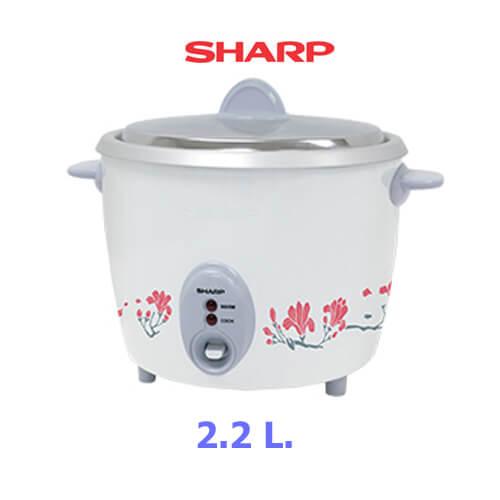 SHARP หม้อหุงข้าว 2.2ลิตร KSH-D22