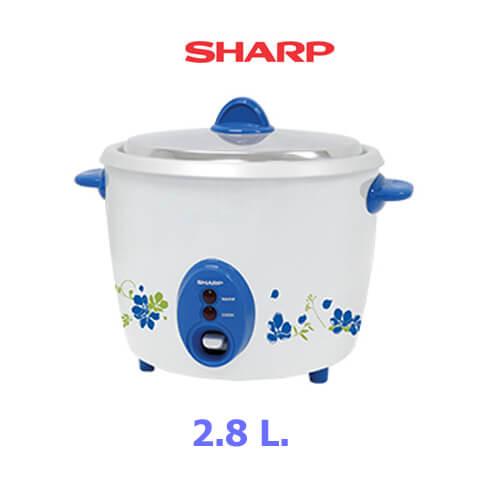 SHARP หม้อหุงข้าว 2.8 ลิตร KSH-D28