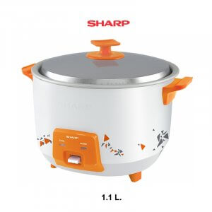 SHARP หม้อหุงข้าว 1.1ลิตร KSH-Q11