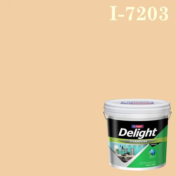 สีน้ำอะครีลิก ภายใน I-7203 ดีไลท์ Peach Poller