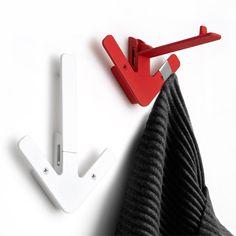 Arrow hanger white อุปกรณ์แขวนติดผนังไอคอนกราฟฟิก