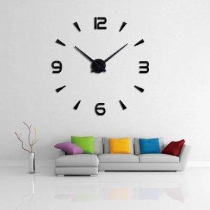 นาฬิกาติดผนังขนาดใหญ่อะคริลิค DIY