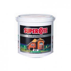 ICI ซูเปอร์โคท Supercoat สีรองพื้นปูนใหม่กันด่าง #800 5GL
