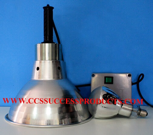 โคมฉายแสงไฟยูวี COVER UV 125W