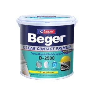 Beger ClearContact น้ำยารองพื้นปูนทับสีเก่า B-2500
