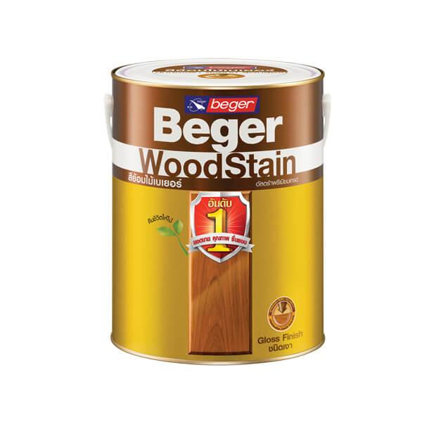 Beger WoodStain สีย้อมไม้วูดสเตน ชนิดเงา 1gl.