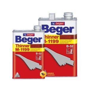 Beger Thinner M-1199 ทินเนอร์สีย้อมไม้