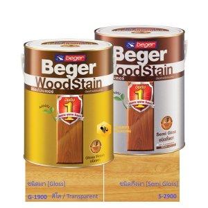 Beger WoodStain Transparent สีย้อมไม้