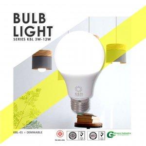 หลอดไฟ (Bulb) Series KBL01 E27 DIM