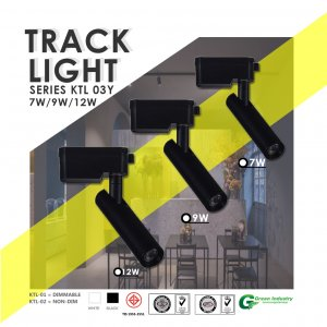 ไฟติดราง Track Light Series KTL 03Y nondimable