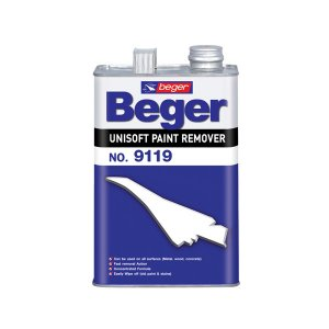 Beger Unisoft น้ำยาลอกสี เบอร์ 9119 ขนาด 1 แกลลอน