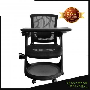 Ergohuman Thailand เก้าอี้เพื่อสุขภาพ รุ่น SKATE-EP Black