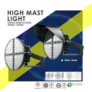 High Mast ไฟส่องสว่างสนามRound KHM300WR