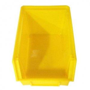 กล่องเครืองมือ DIY ใส่อะไหล่ กลาง 9 นิ้วเหลือง แดง