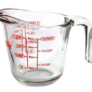 Anchor ถ้วยตวงแก้ว ขนาด8ออนซ์/250ml