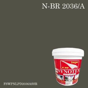 สีน้ำอะครีลิก N-BR 2036/A ซินโนเท็กซ์ชิลด์ SSR Sair Fieldstone